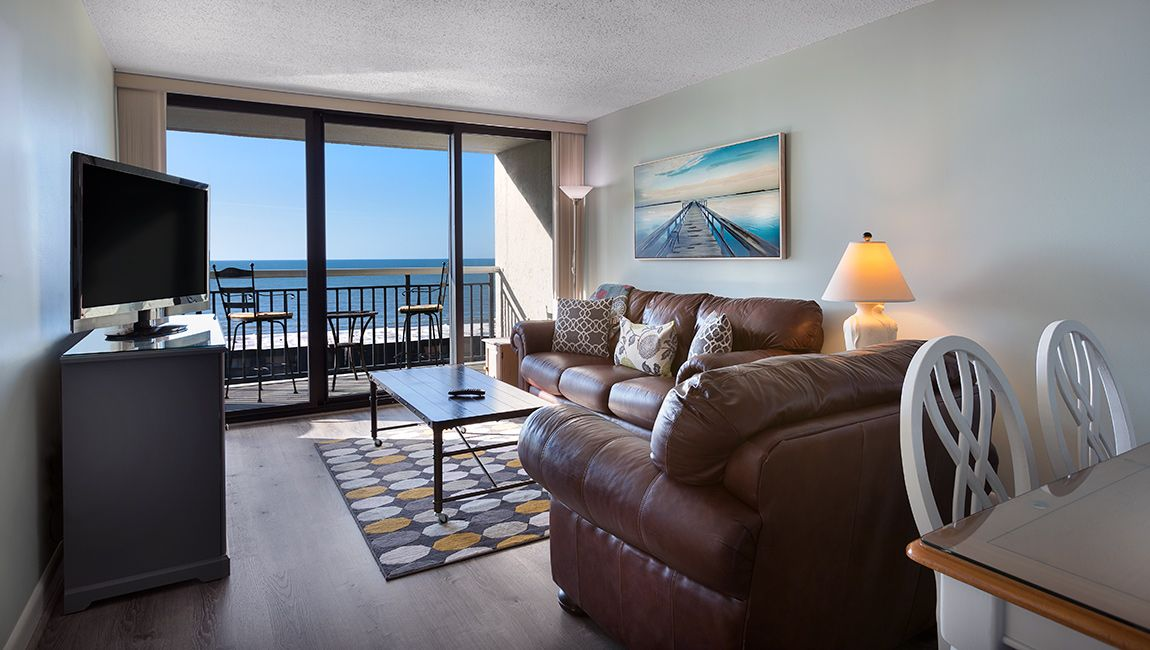 Ocean View 2 Bedroom Living Room