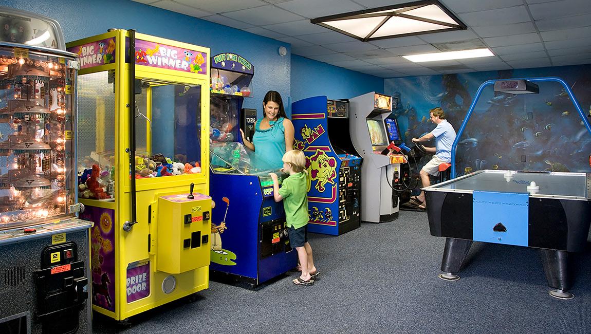Arcade at Myrtle Beach hotel