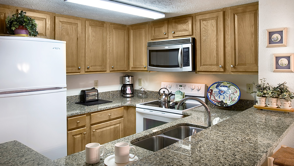 Myrtle Beach Fully Equipped Kitchen
