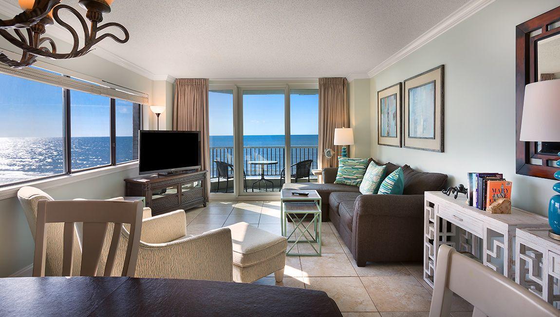 3 Bedroom North Living Room Myrtle Beach