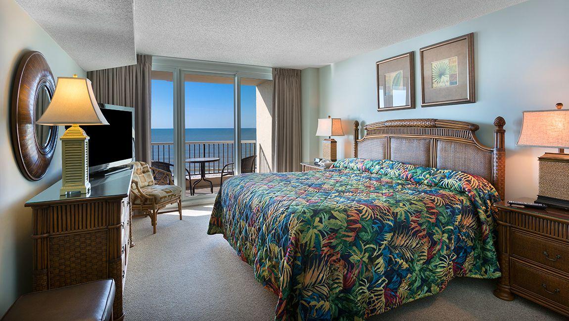 3 Bedroom North Master Bedroom Carolina Winds Resort