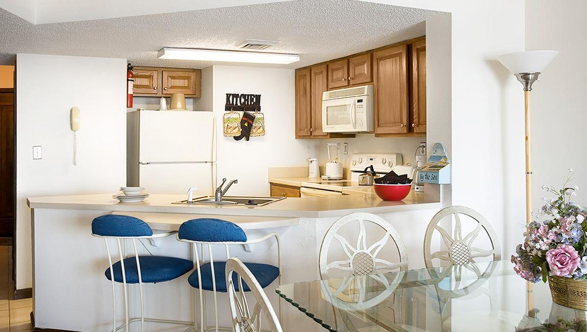 Full Kitchen at Carolina Winds Myrtle Beach