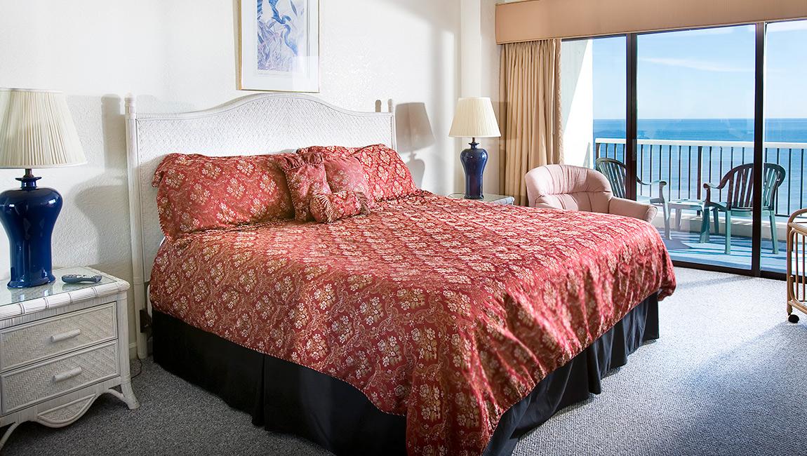 Carolina Winds Myrtle Beach Condo Master Bedroom