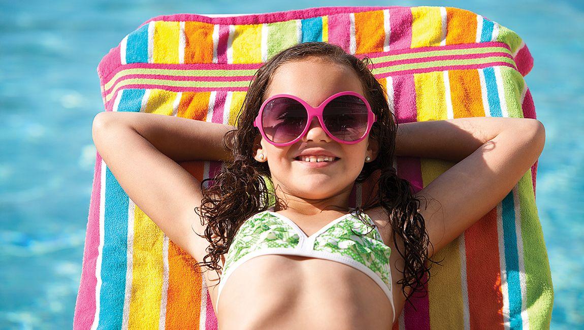 Myrtle Beach Pool Relaxing