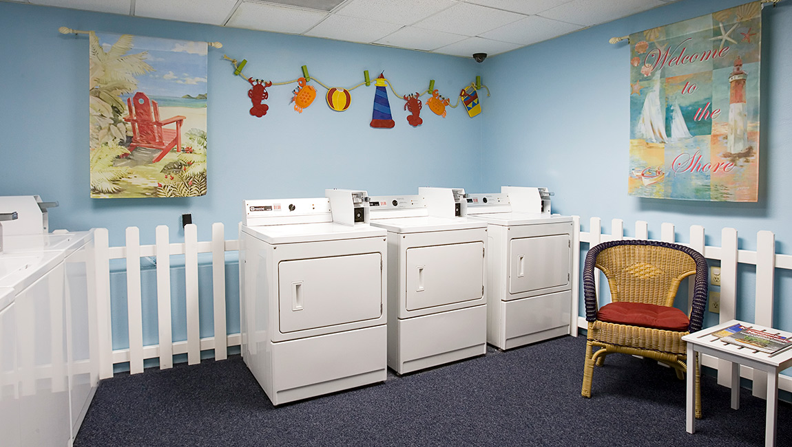Guest Laundry at Carolina Winds